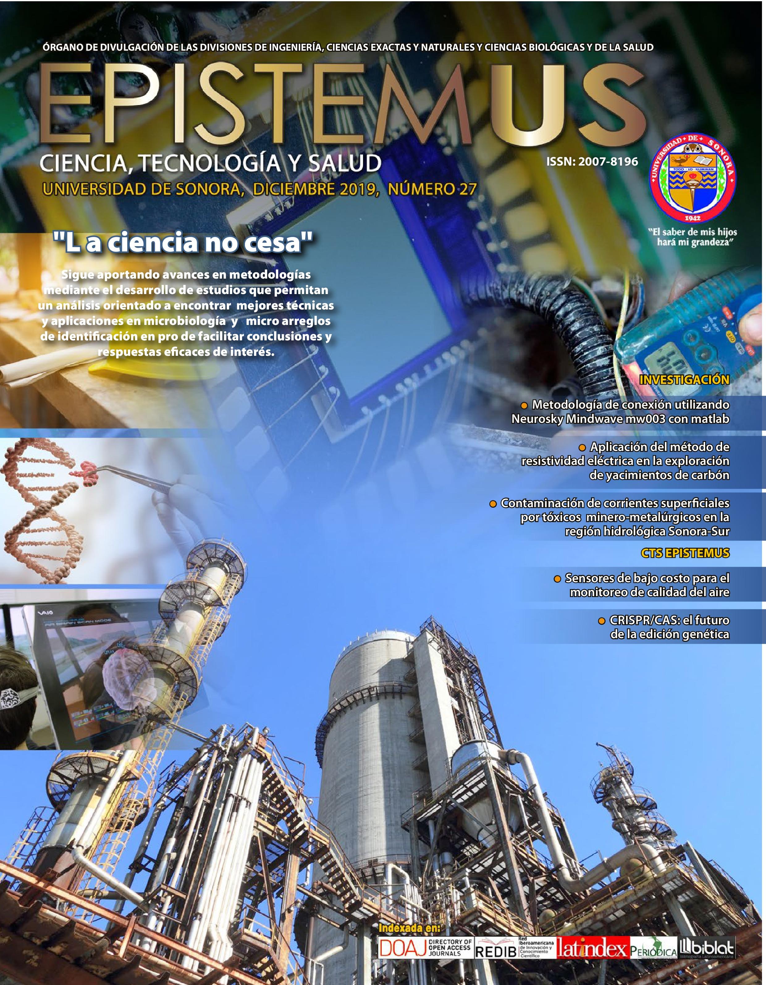 Ver Vol. 13 Núm. 27 (2019): La ciencia no cesa